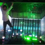 Richie Egan, aka Jape, at the Heineken Greenspace (Yfrog)