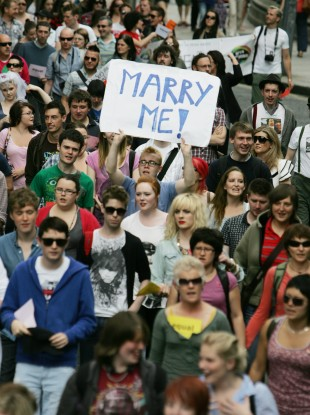 Last year's March for Marriage