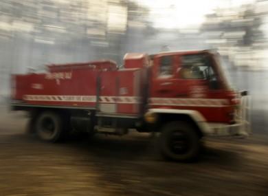 File photo of firetruck.