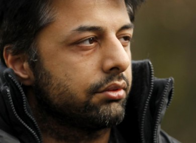 File photo of Shrien Dewani, accused of having his wife murdered while they visited South Africa last year.