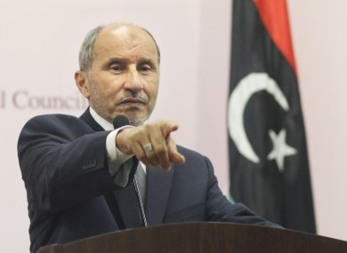 The man who would be leader: Mustafa Abdul-Jalil, the chairman of the National Transitional Council, would be the de facto premier if Gaddafi's regime falls.