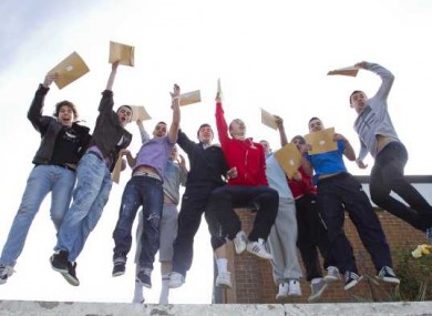 10 - The number of people jumping in this photograph.