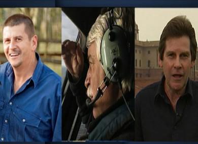 From left to right: John Bean, Gary Ticehurst and Paul Lockyer