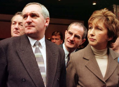 Ahern explains why he chose McAleese over Reynolds: I didn't actually know Mary McAleese personally. I didn't know [her] at all.But when we were running her name as an unknown she was actually pulling support from outside Fianna Fáil.