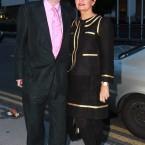 Charlie Chawke with his wife Bernice. Photo Leon Farrell/Photocall Ireland