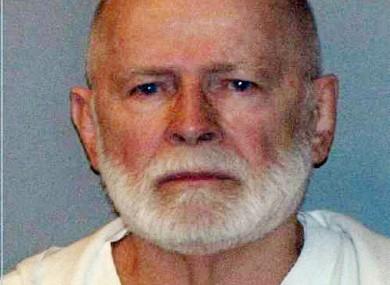 James 'Whitey' Bulger after his arrest