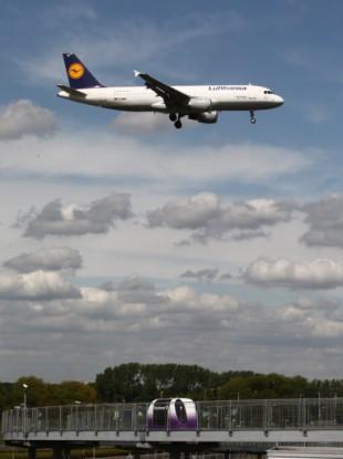 A Lufthansa Airlines plane