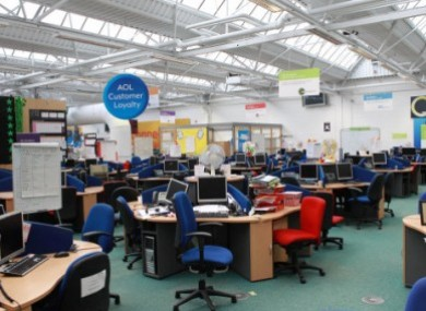 The Waterford call centre is now closed