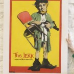 A stencil entitled The Jerk by street artist ADW. (Image: Niall Carson/PA Wire)