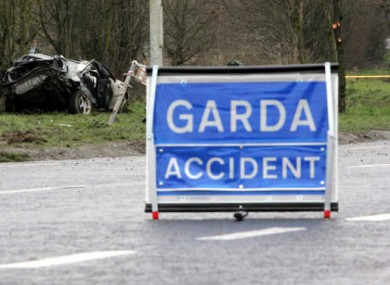 File photo of an accident scene.