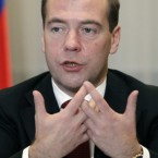 President Dmitry Medvedev is head of state while Prime Minister Vladimir Putin is head of government. Salary: €78,134 Russia GDP: €1.04trillion