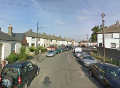 General view of Russell Avenue in East Wall, Dublin (file photo).