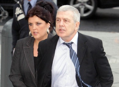 Liam Adams arrives at court in Dublin last month