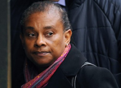 Doreen Lawrence, the mother of Stephen Lawrence, arrives at the Old Bailey in London