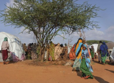 File photo of a UNHCR camp for internally-displaced persons in Dolo, southern Somalia