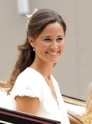 Pippa Middleton at Britain's royal wedding in April.