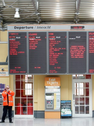 Heuston Station in Dublin (File photo)
