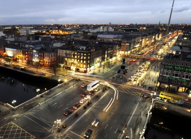 Bright lights, poor(er) city