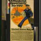 A 1917 call to enlist in the US Navy. (Library of Congress, Prints & Photographs Division)