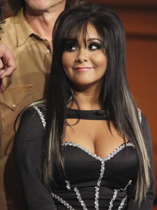 Snooki gained fame through her involvement in Jersey Shore.