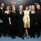 The cast of The Iron Lady, including Streep, Richard E. Grant and Anthony Head (of Buffy the Vampire Slayer fame!).