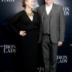 Meryl Streep and Jim Broadbent play Baroness Thatcher and her husband Denis.   The film shows the former British Prime Minister as a lonely widow remembering her life with her late husband.