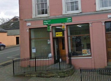 The post office in Lismore, Co Waterford.