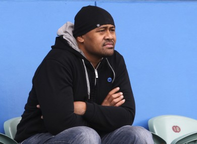 Lomu's health has deteriorated since he appeared at the Rugby World Cup's opening ceremony.