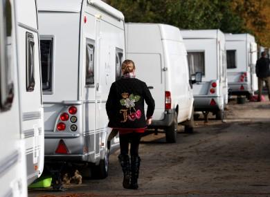 File photo of a caravan park