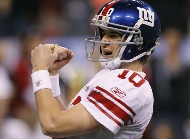 Eli Manning: elite.