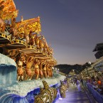 Every year, around half a million overseas visitors flock to Rio for its Carnival. (AP Photo/Victor R Caivano/PA Images)