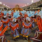 Performers spend a year in advance of each Carnival to prepare for the big event. (AP Photo/Victor R Caivano/PA Images)