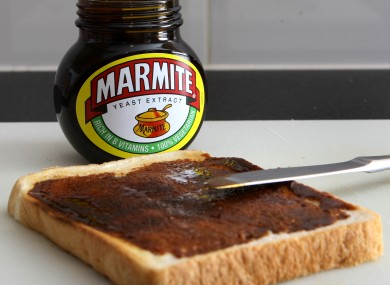 Marmite (in the UK packaging)