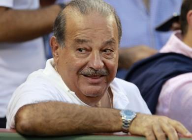 Happy days for Mexican billionaire Carlos Slim