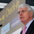 Former PM John Major offers WSB clients a 'look around the world' on issues ranging from politics to deplomacy,