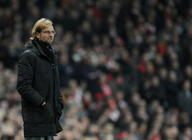 Klopp has been in charge at Borussia Dortmund since 2007.