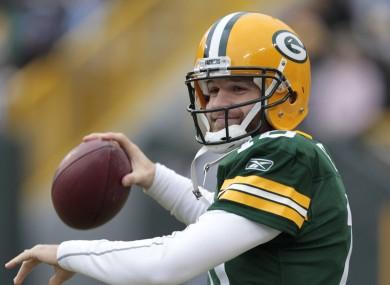 Matt Flynn, backup quarterback of the Green Bay Packers.