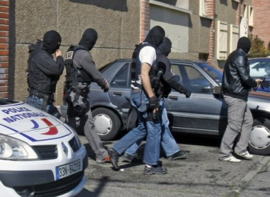 French police search for clues at Mohamed Merah's apartment.