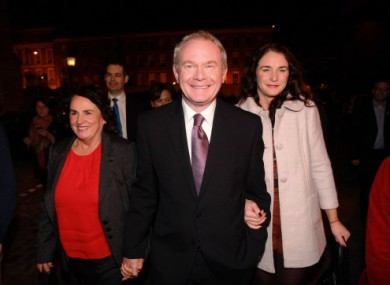 McGuinness blames Gallagher's undoing on 'lack of