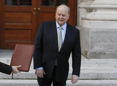 Michael Noonan could find himself being handed another Budget document later this year.
