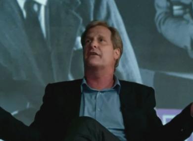 Greg Daniels as Will McAvoy, starring in Aaron Sorkin's new TV drama The Newsroom.