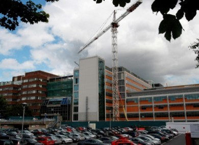 The location of the proposed National Children's Hospital on the Mater grounds