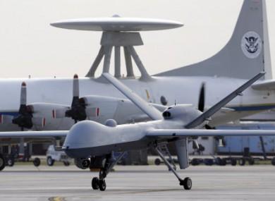 File photo of a US Predator drone.