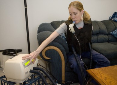 Cystic Fibrosis patient Sara Cahoon