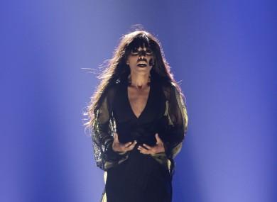 Sweden's Loreen was a runaway winner with her song 'Euphoria'.
