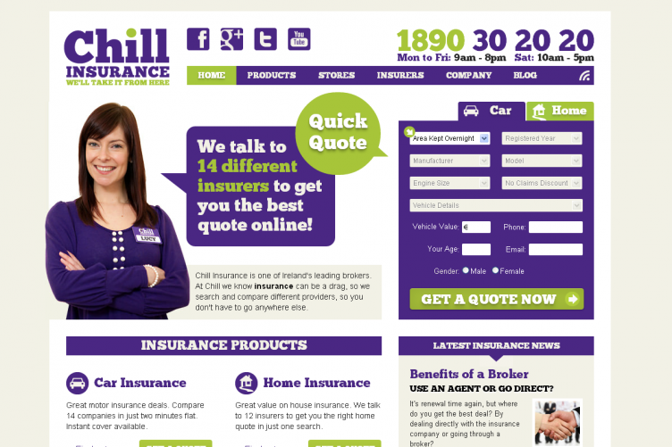 insurance company chill to create 50 new jobs thejournalie