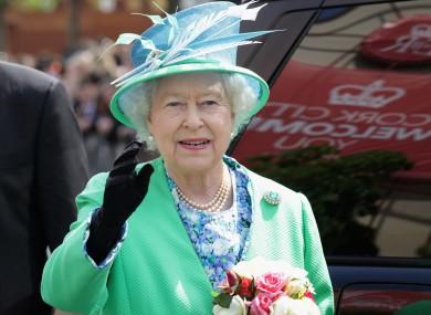 The Queen in Cork last year.