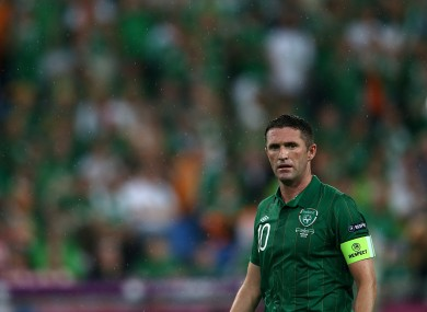 Keane was less than impressive in Ireland's opening game.