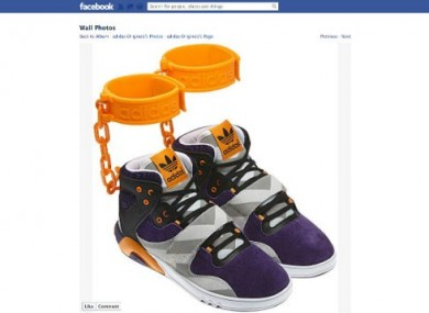 detailed look fbbbf c4917 Adidas scraps outrageous  shackle sneakers