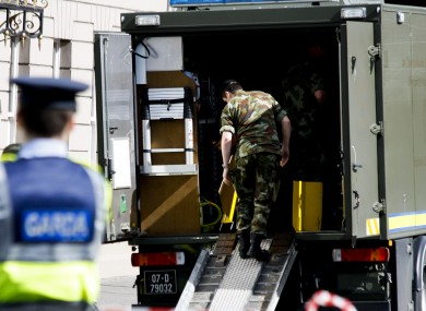File photo of the Army Bomb Disposal Unit